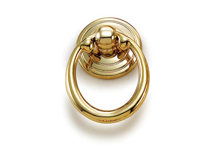 YJ3567金色橱柜圆环拉手